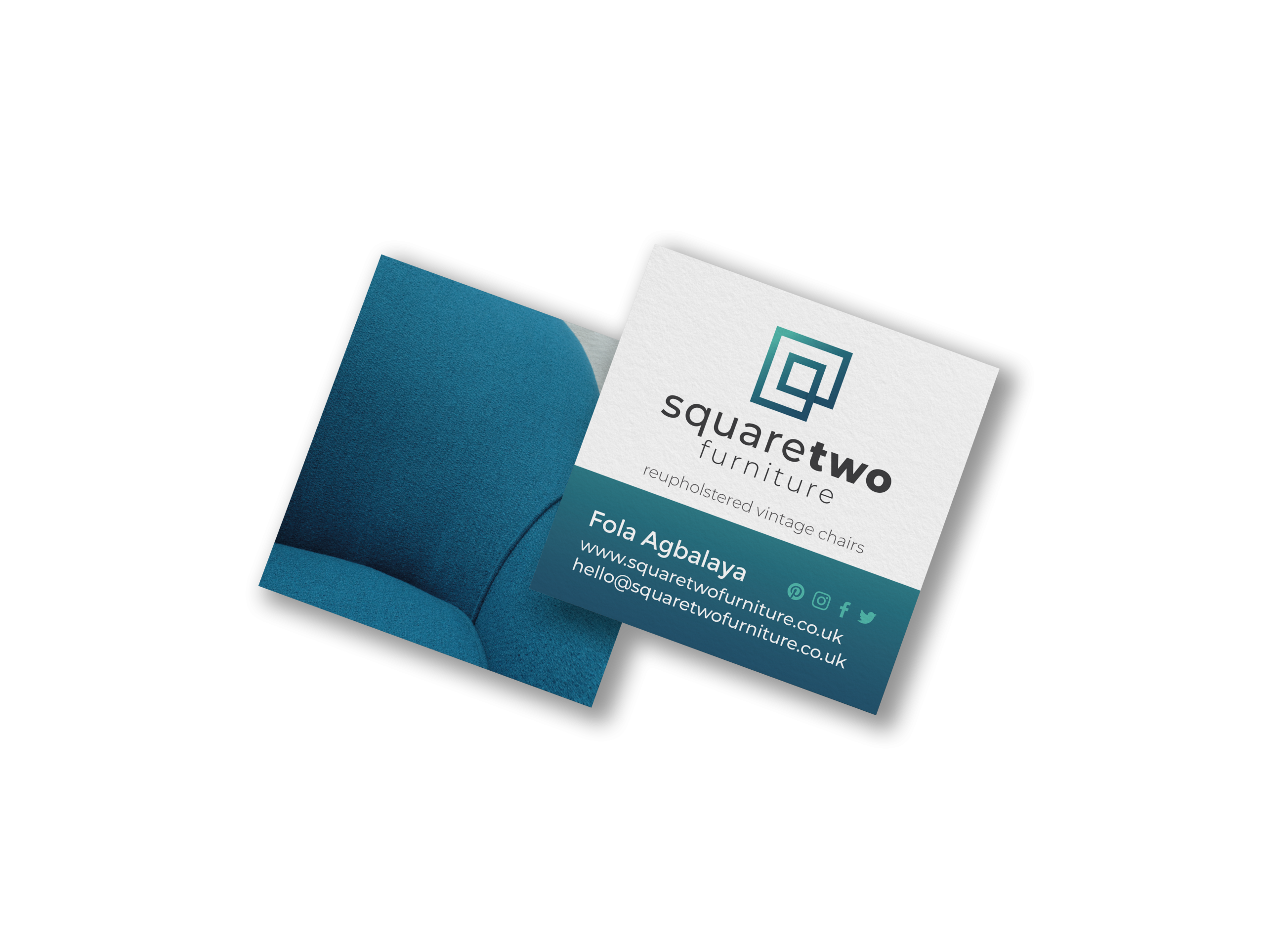 Square Two Business Card